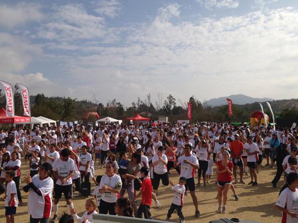 Tercera versión de la corrida familiar organizada por el Santuario Valle Hermoso