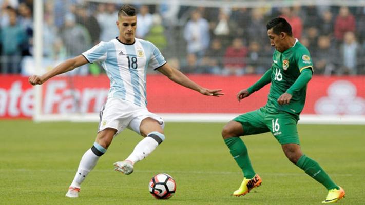 Argentina v/s Bolivia en Copa América Centenario