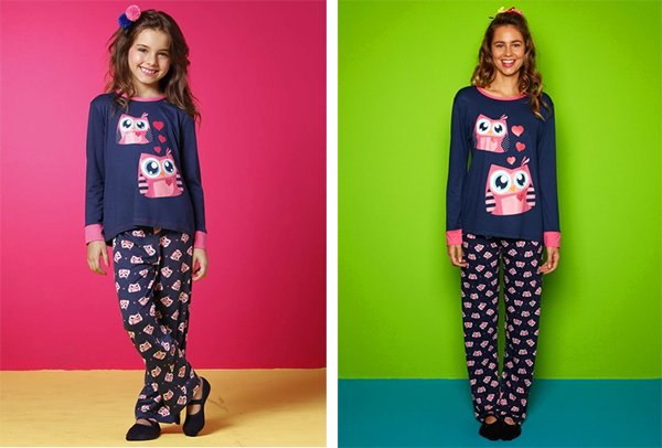chicureohoy pijama mama e hija