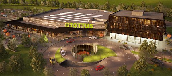 La primera etapa contempla un hipermercado Tottus y 17 locales comerciales
