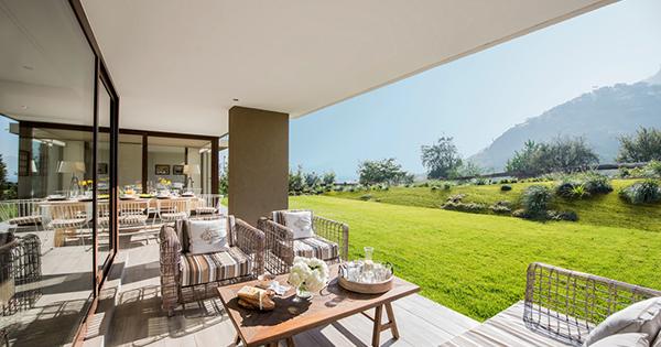 terrazas equipadas y con paisajismo marcan las ltimas