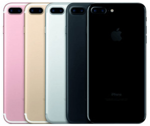 iphone 7 colores