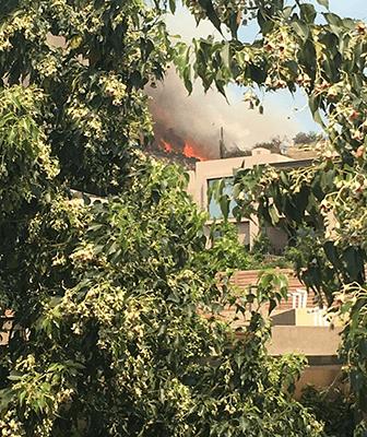 incendio casas
