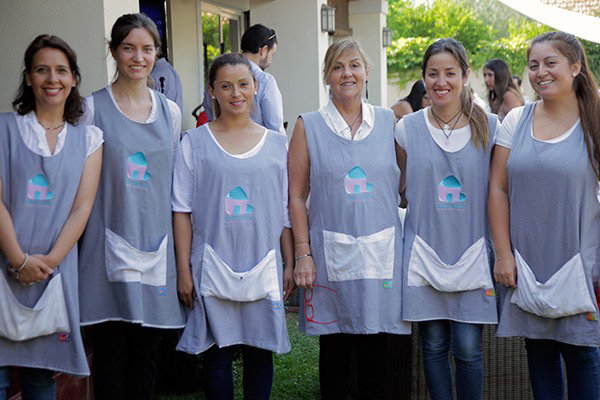Educadoras de párvulo de Oportuna Homeschooling Foto: Chicureo Hoy
