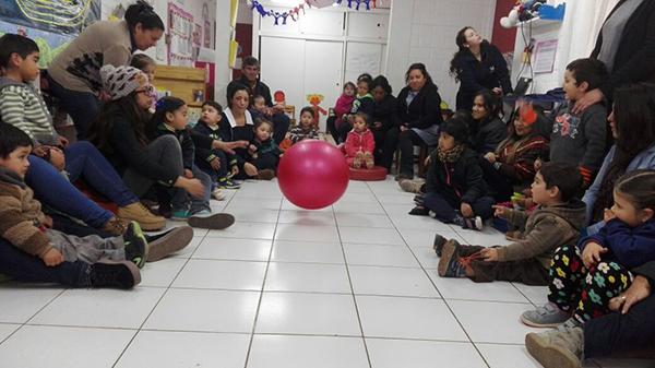 Inauguran en colina el primer jard n infantil p blico for Azulillo jardin infantil