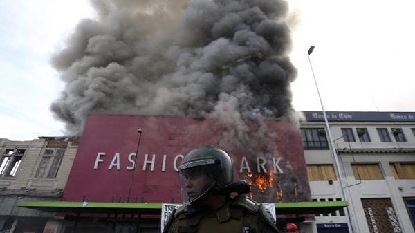 Resultado de imagen para fashion park incendio