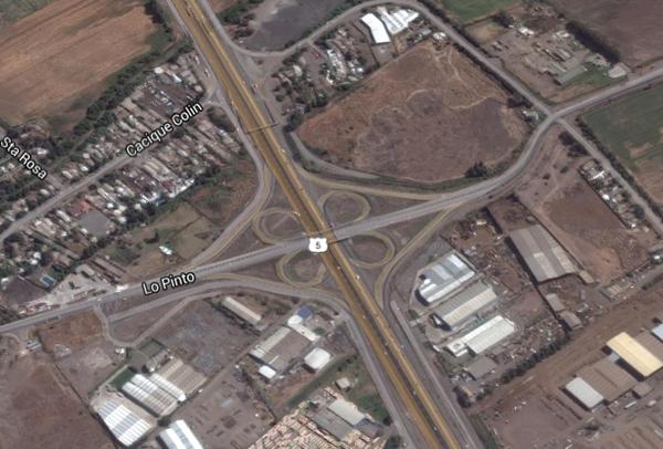 Se Inician Trabajos En Nudo Lo Pinto Por Obras De Autopista Santiago