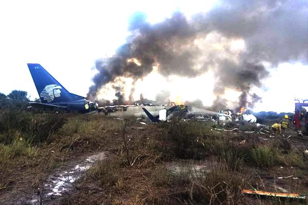 Resultado de imagen para accidente avion mexico